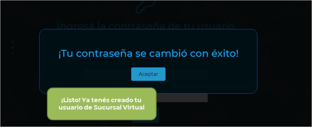 Pasos para registrate en Sucursal Virtual
