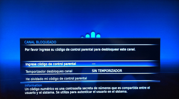 Control Parental decodificador Cisco