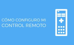 como configuro control remoto