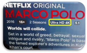 Contenido de Netflix en 4K