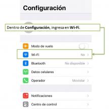 WIFI TeleCentro iOS