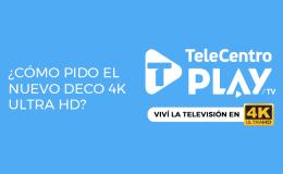 Como pedir el deco 4K de TeleCentro